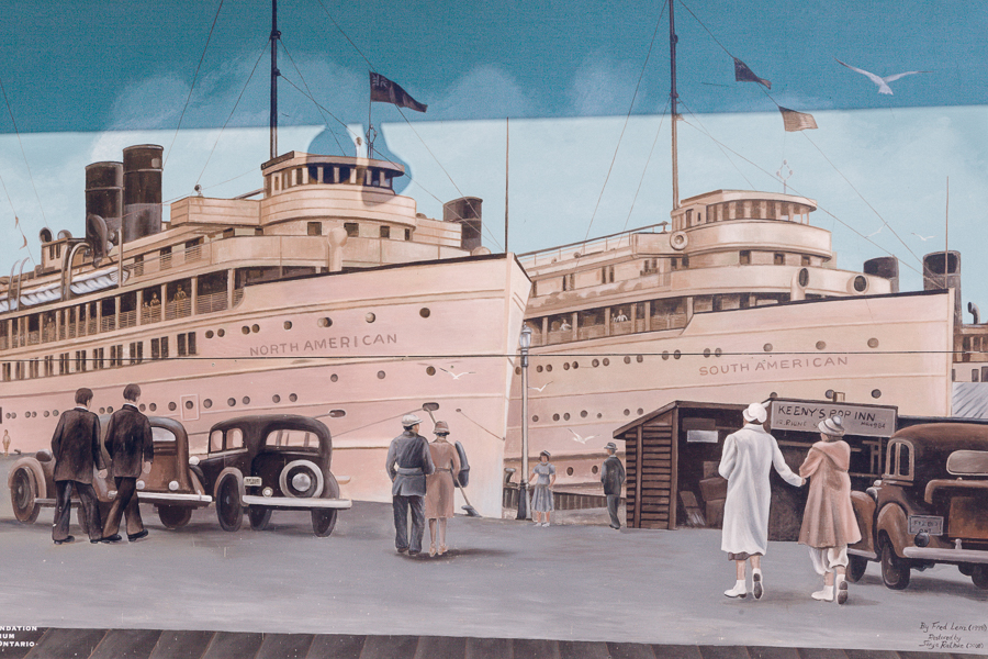 Great Lake Cruises (detail)